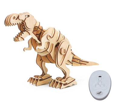 Remote Controlled Walking T-Rex Dinosaur Puzzle-ROKR-At Play Toys