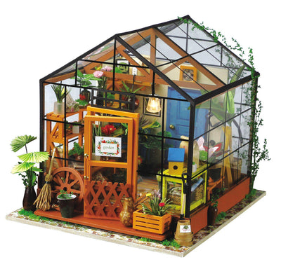 Green House DIY Miniature Room-Rolife-At Play Toys