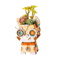 Robot Puppy Flower Pot Kit-Rolife-At Play Toys