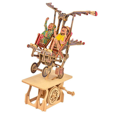 Clockwork Dreams Flying Finkle Family Automata Kit-ModelShop-At Play Toys