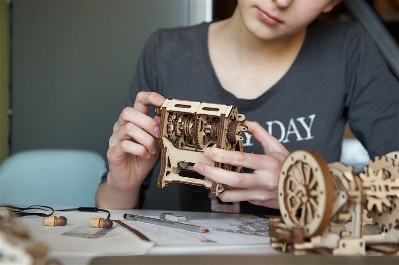 UGears STEM LAB Gearbox-UGears-At Play Toys