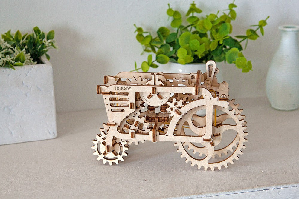 UGears Tractor-UGears-At Play Toys