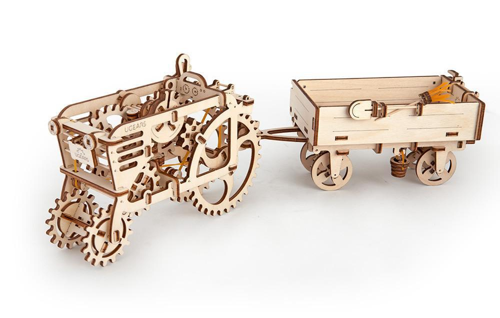 UGears Trailer for Tractor-UGears-At Play Toys