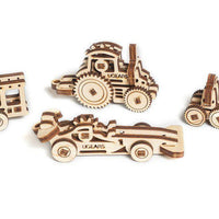 UGears U-Fidget Vehicles-UGears-At Play Toys