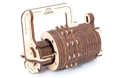Combination Lock-UGears-At Play Toys