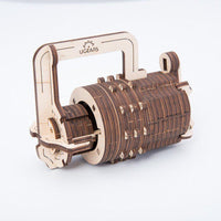 UGears Combination Lock-UGears-At Play Toys