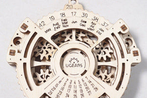 UGears Date Navigator-UGears-At Play Toys