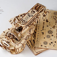 UGears Hurdy-Gurdy Musical Instrument-UGears-At Play Toys