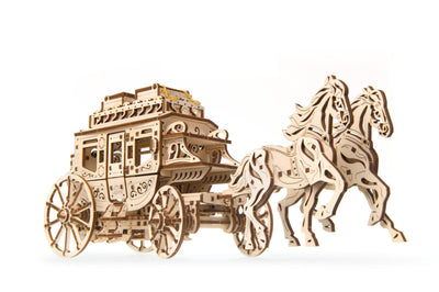 UGears Stagecoach-UGears-At Play Toys