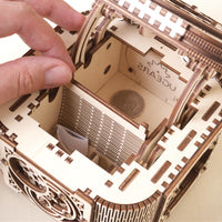 UGears Treasure Box-UGears-At Play Toys