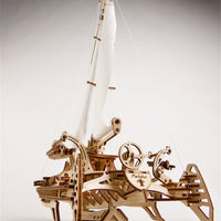 UGears Trimaran Merihobus Sailboat-UGears-At Play Toys