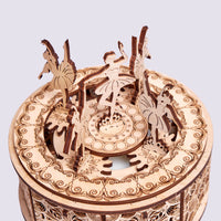 Wood Trick Dancing Ballerinas Music Box-Wood Trick-At Play Toys
