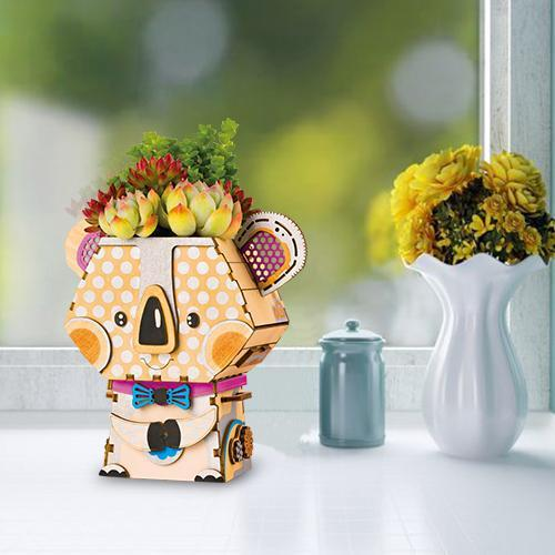 Koala Bear Flower Pot-Rolife-At Play Toys