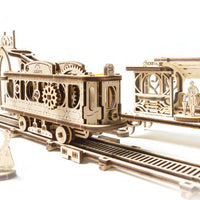 UGears Mechanical Town Tram Line-UGears-At Play Toys