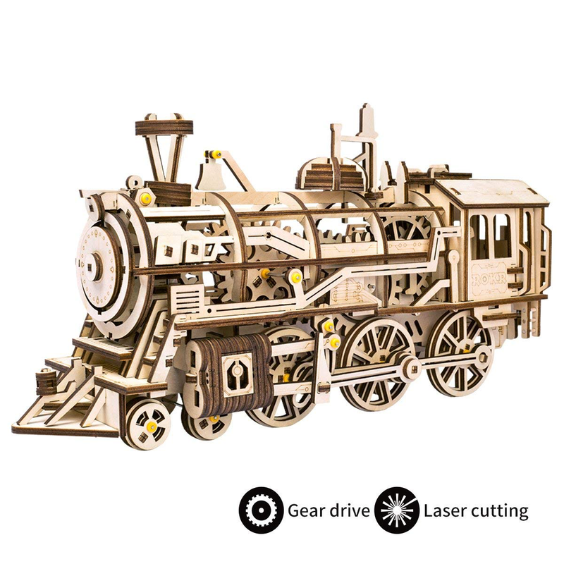 ROKR Mechanical Steam Locomotive-ROKR-At Play Toys
