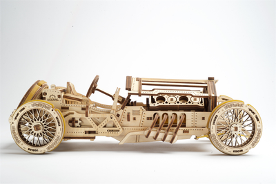 U-9 Grand Prix Race Car-UGears-At Play Toys