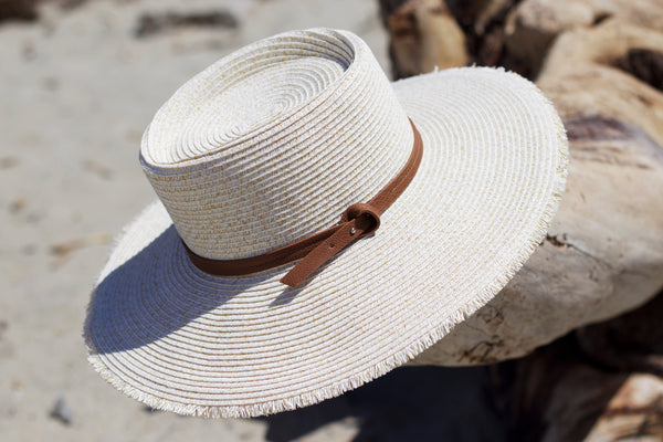 Wide Brim Sailor Hat