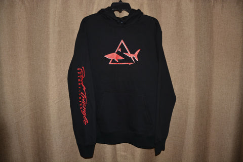 Red Triangle Spearfishing Sport Tek Black Sweatshirt RTS Swag from Red Triangle Spearfishing - Red Triangle Spearfishing