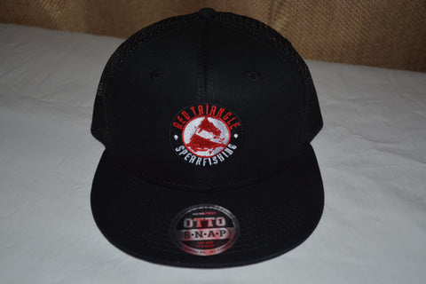 Red Triangle Spearfishing Otto Flat Bill Trucker Hat RTS Swag from Red Triangle Spearfishing - Red Triangle Spearfishing
