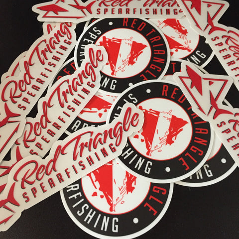 RTS Stickers RTS Swag from Red Triangle Spearfishing - Red Triangle Spearfishing