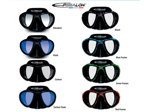 Epsealon E-Visio 2 Mask  from Red Triangle Spearfishing - Red Triangle Spearfishing