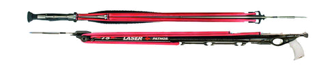 Pathos Sniper-R Roller Semi Enclosed Track Aluminum Speargun from Pathos - Red Triangle Spearfishing