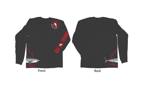 ABachar Long Sleeve Red Triangle T-Shirt RTS Swag from Red Triangle Spearfishing - Red Triangle Spearfishing