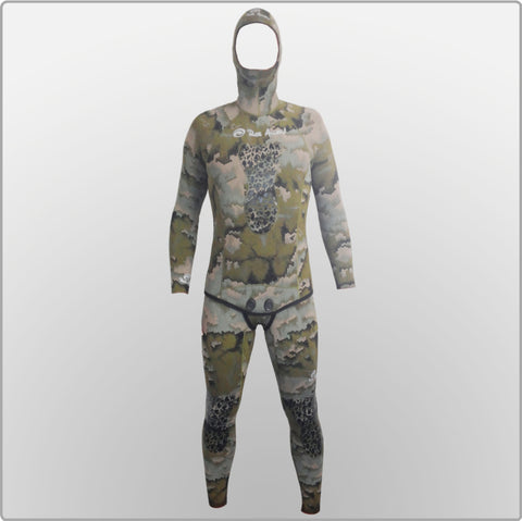 Rob Allen Green Camo Wetsuits Wetsuits from Rob Allen - Red Triangle Spearfishing