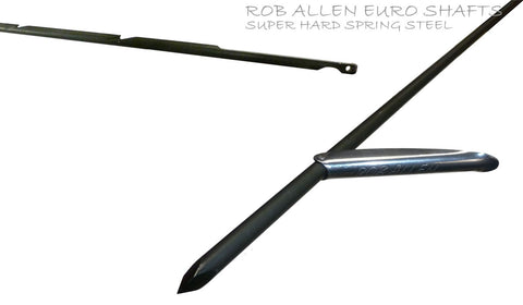Rob Allen Euro Notched Shaft Shafts from Rob Allen - Red Triangle Spearfishing