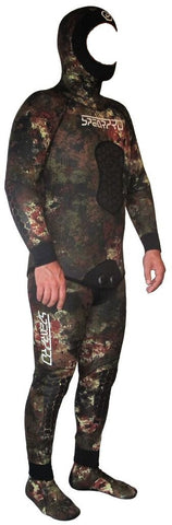 Spear Pro Coastal Camo Wetsuit Wetsuits from Spear Pro - Red Triangle Spearfishing