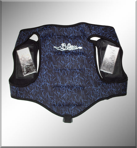 BleuTec Scienalino Weight Vest With 8lbs Weight Weight Vests from Bleutec - Red Triangle Spearfishing