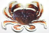 "Dungeness Crab 5.5"" Stickers from Amadeo - Red Triangle Spearfishing"