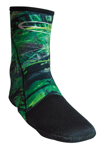 Epsealon Green Fusion booties Booties from Epsealon - Red Triangle Spearfishing