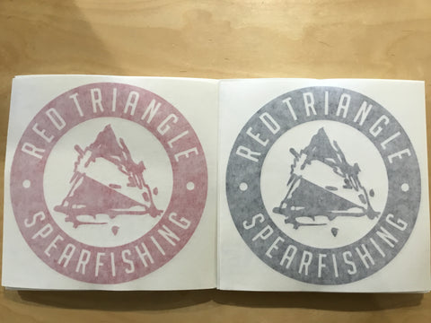 RTS Vinyl decals  from Red Triangle Spearfishing - Red Triangle Spearfishing