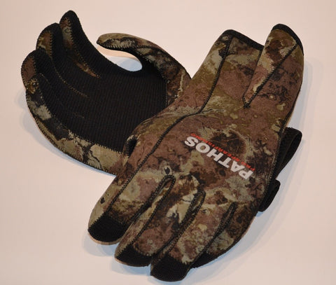 Pathos 3mm Dyna Camo Titanium Gloves Gloves from Pathos - Red Triangle Spearfishing