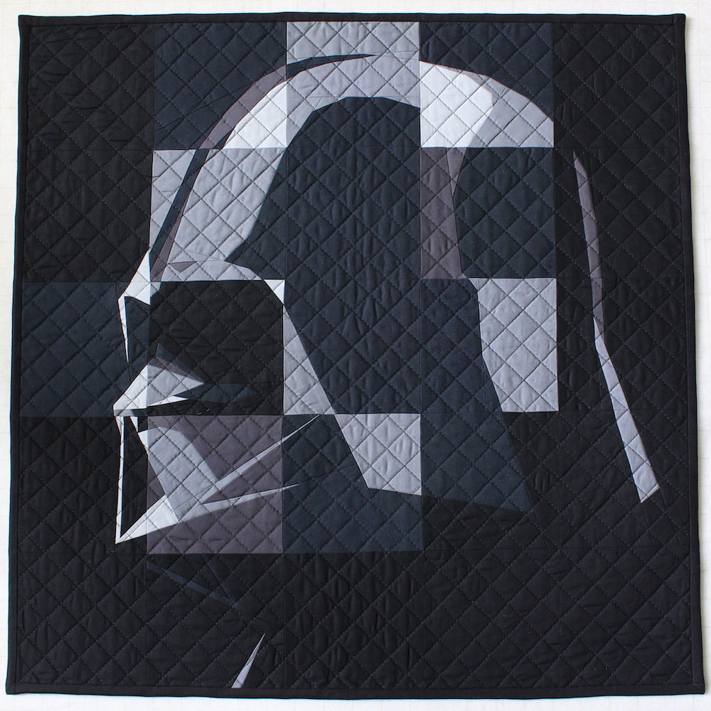 Vader Quilt by Angela Bowman