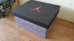 Nike inspired XL Trainer Storage Box - Holds 12no pairs of trainers