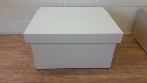 Jimmy Choo inspired XL Trainer Storage Box - Holds 12no pairs of trainers