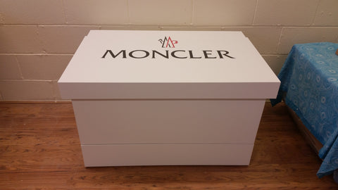 Moncler inspired XL Trainer Storage Box - Holds 24no pairs of trainers