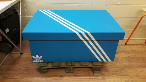 Adidas inspired XL Trainer Storage Box - Holds 16no pairs of trainers