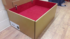Christian Louboutin inspired XL Shoe Storage Box - Holds 20-30no pairs ladies shoes