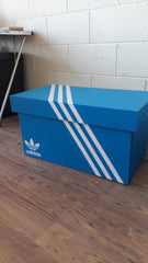 Adidas inspired XL Trainer Storage Box - Holds 6no pairs of trainers