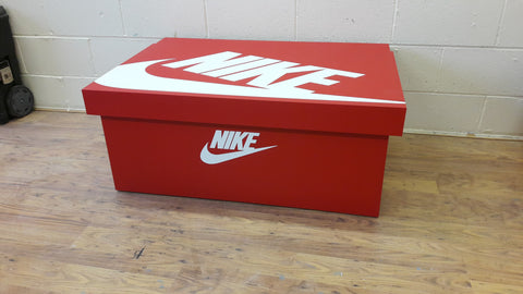 Nike inspired XL Trainer Storage Box - Holds 16no pairs of trainers