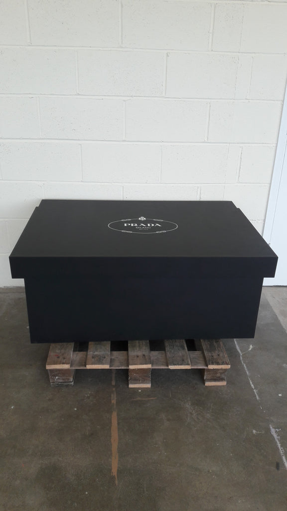 Prada inspired XL Trainer Storage Box - Holds 16no pairs of trainers