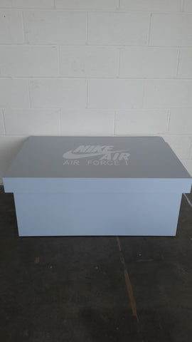 Nike Air Force inspired XL Trainer Storage Box - Holds 16no pairs of trainers