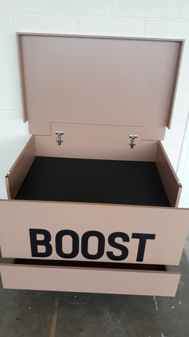 Adidas Yeezy Boost inspired XL Trainer Storage Box - Holds 24no pairs of trainers
