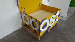 Adidas Boost inspired XL Giant Trainer Shoe Storage Box - Holds 12no pairs of trainers