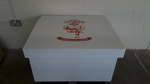 Football inspired XL Trainer Storage Box - Holds 12no pairs of trainers