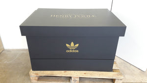 Adidas Henry Poole inspired XL Trainer Storage Box - Holds 24no pairs of trainers