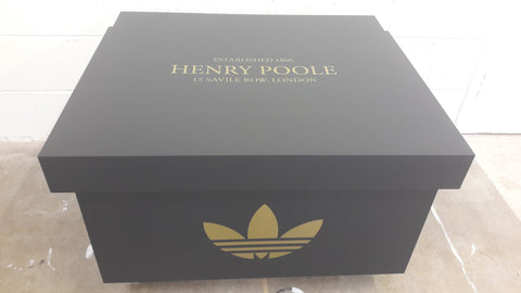 Adidas Henry Poole inspired XL Giant Trainer Shoe Storage Box - Holds 12no pairs of trainers